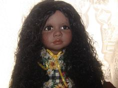 Beautiful Brand New AA Porcelain Doll,American Artists Collection By Kais. CUTE! in Dolls & Bears   eBay
