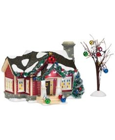 Department 56 Snow Village The Ornament House Collectible Figurine