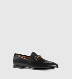 Gucci - Gucci Jordaan Leather Loafer 404069BLM001000