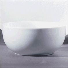 """Royal Coupe White Oversized 6"""" Cereal Bowl [Set of 6]"""
