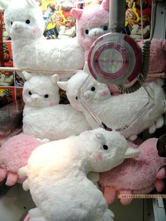 awww, so cute. #alpaca #toys     Wish we had them here so I could give these to the kids.