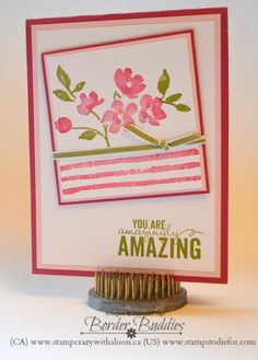 Quick Tip Wednesday - Stamp Once with Several Images!