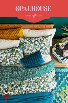 Permission to get lost in dreamily affordable, extra embellished layers from Opalhouse, only at Target. Target Bedroom, Target Bedding, Home Bedroom, Bedroom Decor, Bedroom Ideas, Bedrooms, Warm Bedroom, Target Home Decor, Bedroom Green