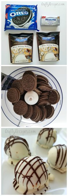 No bake 3-ingredient oreo truffles recipe! My favorite dessert ever.
