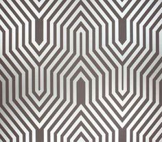 Art Deco Wallpaper #7 - Art Deco Print #5693 Interior   cascorosso ...