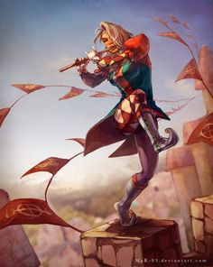 Jester Jazz by MaR-93.deviantart.com on @DeviantArt