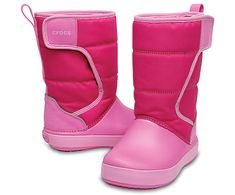 These cute and cozy kids' snow boots are perfect for the winter. Help your kids tackle the elements as well as the playground fashion runway. Kids Snow Boots, Pink Parties, Pink Candy, Casual Boots, Stay Warm, Crocs, Runway Fashion, Pairs, Style