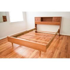 Image of Mid-Century Kent Coffey Debonaire Headboard & Bed
