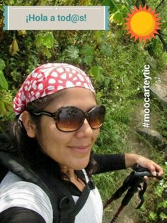#selfiemoocarteytic Este selfie lo tomé camino a Los Bosques de Zárate, aquí en Perú... Una experiencia liberadora. Así como el trekking, la Educación para mí es sinónimo de LIBERTAD.