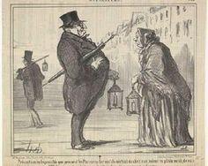 Jacques Babinet - Honore Daumier