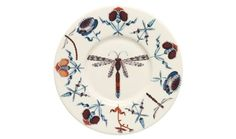 Haapaniemi Korento Blue Dragonfly Plate 16 cm Iittala I have not seen Arabia in this pattern. Blue Dragonfly, Insect Art, Ceramic Animals, Blue Plates, Nordic Design, Scandinavian Design, Solid Wood Furniture, Teller, Tea Cup Saucer