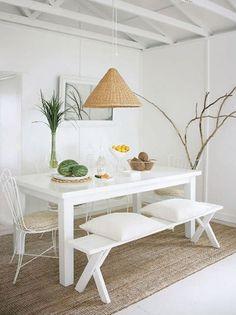 ¿Cómo decorar tu casa con elementos de rafia en clave low cost?