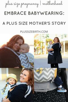 A Mother's Story of Embracing Babywearing | Plus Size Babywearing