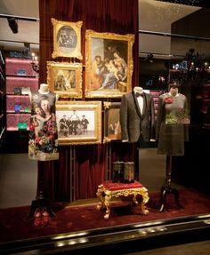Retail Design Blog — Dolce & Gabbana Windows 2015 Winter, Vienna -...