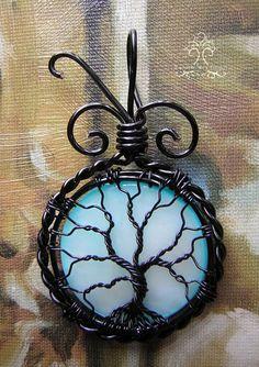 Blue Moon *SOLD* by RachaelsWireGarden on deviantART