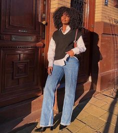 Retro Outfits, Cute Casual Outfits, Fall Outfits, Girl Fashion, Fashion Outfits, Womens Fashion, Female Fashion, Fashion Ideas, Mode Old School