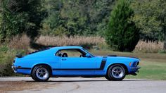 1970 Ford Mustang Boss 302 Fastback HP, presented as lot at Kansas City, MO 2015 - Mustang Boss 302, 1970 Ford Mustang, Mustang Cars, Chrome Wheels, Hot Cars, Corvette, Kansas City, Chevy, Jeep