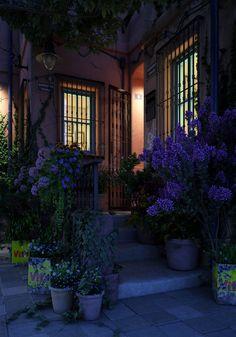 Sardunya Street Night Street by Cihan Özkan http://www.cozkan.com/awards/