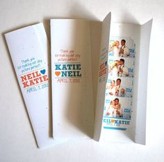 Looking for a way to personalize your guests Photo Booth experience even further? Well, look no more! These Tri-fold Picture Holders are the perfect