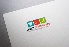 Online Shopping Logo by XpertgraphicD on Creative Market