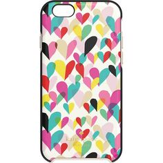 kate spade new york - Confetti Heart Hybrid Hard Shell Case for Apple® iPhone® 6 - Rainbow - Alternate View 1