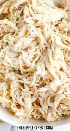 Cream cheese chicken is perfect for sandwiches and wraps. You can also use the slow cooker to make a crack chicken dip. Easy recipe that's perfect for entertaining.
