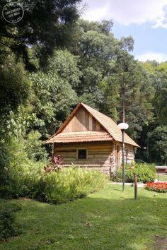 construção típica polonesa no Bosque do Papa