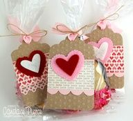 candy bags with tags