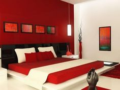 Black and red master bedroom red bedroom ideas red bedroom ideas black . Red Master Bedroom, Red Bedroom Walls, Brown Bedroom Decor, Red Bedroom Design, Bedroom Wall Colors, White Bedroom, Bedroom Ideas, Bedroom Designs, Bedroom Prints