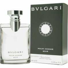 BVLGARI SOIR FOR MEN BY BVLGARI 3.4OZ EDT SP by BVLGARI. $36.12