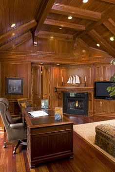 Traditional Home study Design Ideas, Pictures, Remodel and Decor
