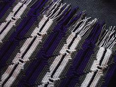Ravelry: Navajo Indian Diamond Pattern Afghan pattern by Yvonne R