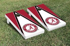 Cornhole Game Set - University of Alabama Crimson Tide Triangle Version 1 - 23993
