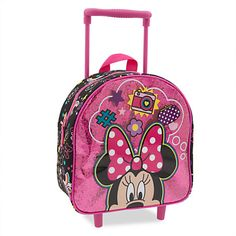 Minnie Mouse Clubhouse Rolling Luggage - Small   Disney Store