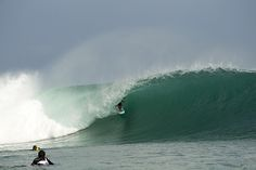 Padang Padang, Indonesia. Photo: Childs #SURFER #SURFERPhotos