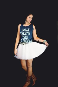 White Tulle Skirt exclusively @ http://www.countryinclover.com/store#!/White-tulle-skirt/p/66386686/category=19413219