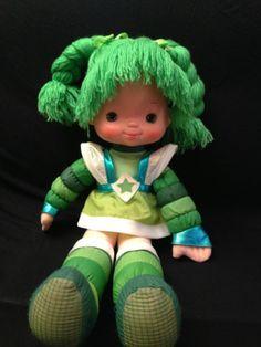 Vintage Rainbow Brite Patty O'Green Doll Large | eBay