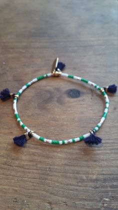 Festival Free Spirited  Boho Beach handmade with Miyuki Beads in my Etsy shop https://www.etsy.com/listing/255794706/colorful-seed-bead-and-tassel-stretch