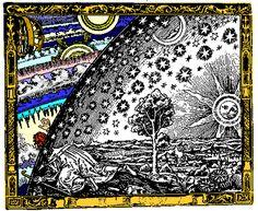 """Durante dois milênio, a humanidade continuamente redefiniu o seu conceito de """"Universe"""": em primeiro lugar, como esferas centradas na Terra, em meados de milênio como o Sistema Solar, alguns séculos atrás, como o Galaxy, e dentro do século passado como a matéria que emana do Big Bang. #CMistériosBlog"""