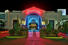 Rosarito Beach Hotel - Baja California, Mexico..stayed here. Still have the glasses in my bar