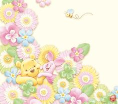 Winnie the Pooh and Piglet:)