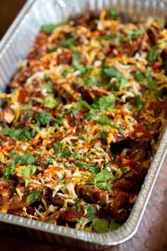 Enjoy Chi'Lantro Kimchi Fry Wedges on your wedding day! Great served buffet style or served out of the truck in fun size portions.