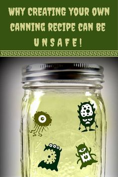 National Center for Home Food Preservation Home Canning Recipes, Canned Food Storage, Ways To Eat Healthy, Fruit Preserves, Pressure Canning, Home Food, Canning Jars, Food Safety, Preserving Food