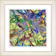Tangle by Zhee Singer Framed Fine Art Giclee Painting Print