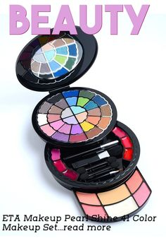 The deluxe kit is added eye shadow base to moistureize your skin, maximize the intensity with extra pearl shine. … (This is an affiliate link)