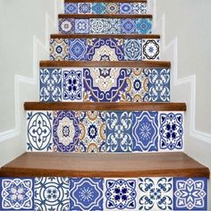 Wall Stickers - Competitive Removable & Art Wall Decor Stickers For Bedroom & Kids Stair Stickers, Wall Decor Stickers, Tile Decals, Diy Prints, Diy Decor, Cheap Vinyl, Wall Stickers, Floral Wall, Stair Decals