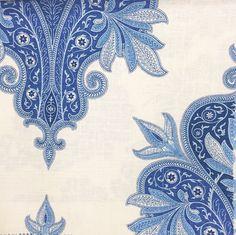 The Pink Pagoda: Blue and White Monday || Stroheim Fabrics