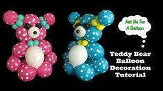 Teddy Bear Balloon Tutorial