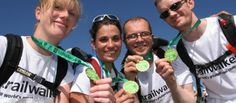 OxFam's Trailwalker Project to Combat Poverty and Injustice while TeamBuilding (trails in 16 locations across the globe)