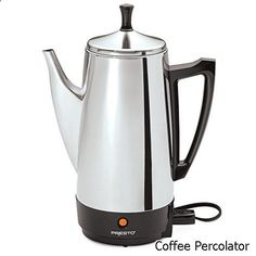 Coffee Percolator - broad variety. Must visit...
